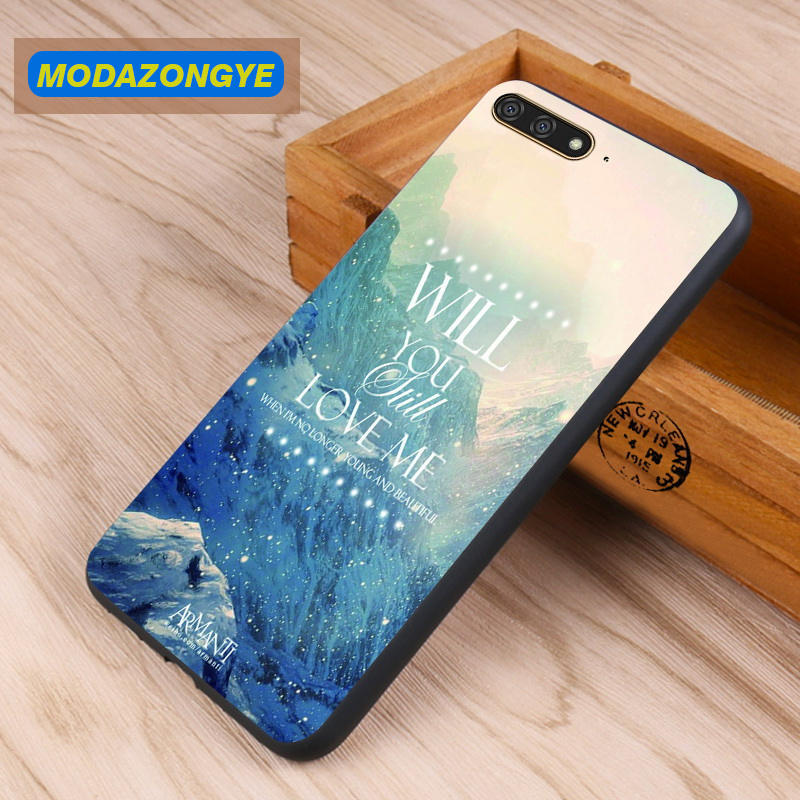sneakers for cheap 24221 656da US $3.99 5% OFF|Huawei Y6 2018 Case Huawei Y6 2018 Case 5.7 inch Soft TPU  Back Cover Phone Case For Huawei Y6 2018 ATU L21 Y62018 Case Silicone-in ...