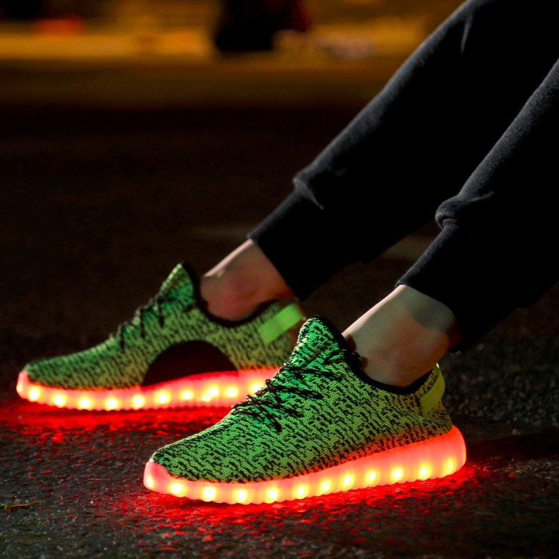 Led Shoes Men Nice Fashion Causal Led Luminous Shoes Lovers Fashion Basket Led Light Up Shoes For Adults Men Shoes 7c11 Men's Casual Shoes Shoes