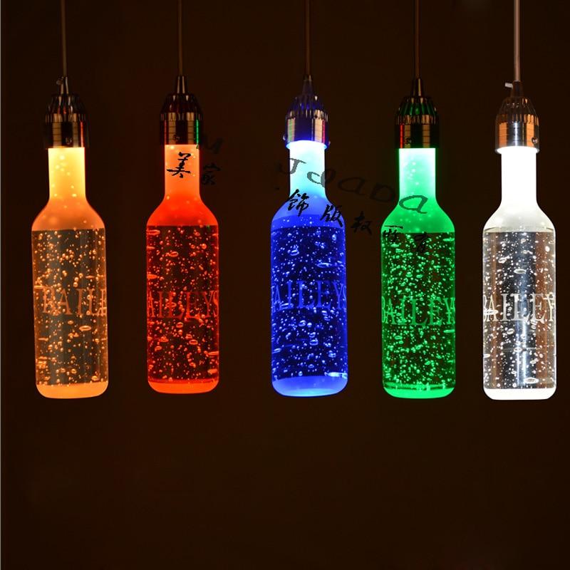 Z Moderna obeska za kristalno steklenico za vino, balonska svetilka - Notranja razsvetljava - Fotografija 4