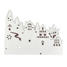 OOTDTY Carbon Steel Cutting Die Embossing Stencil Mold For DIY Christmas Art Handcraft Card Decor diy embossed carbon steel cutting die