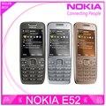 Отремонтированы E52 Оригинал Nokia E52 WIFI GPS JAVA 3 Г Разблокирована Мобильного телефона русская клавиатура телефона Бесплатная Доставка