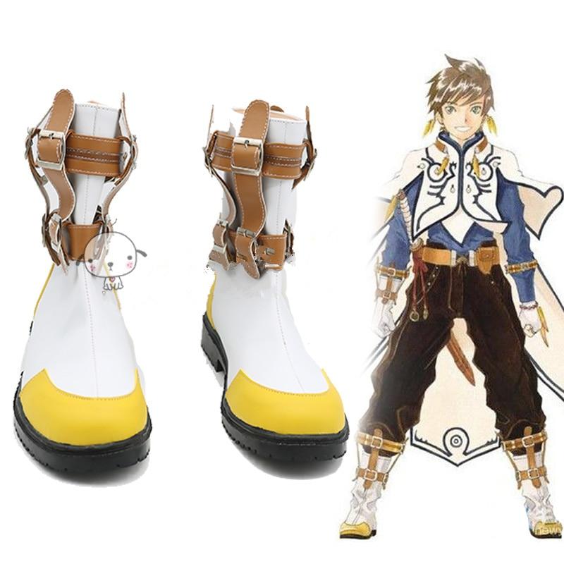 Anime Tales of Zestiria Sorey cosplay shoes boots  Halloween Christmas
