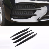 ABS Plastic Carbon Fiber Color Front Fog Lamp Cover Trim For Mercedes Benz E Class W213