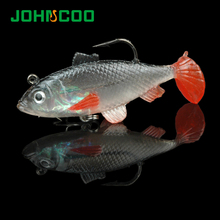 Shaped Soft Bait 5pcs Set with Hook