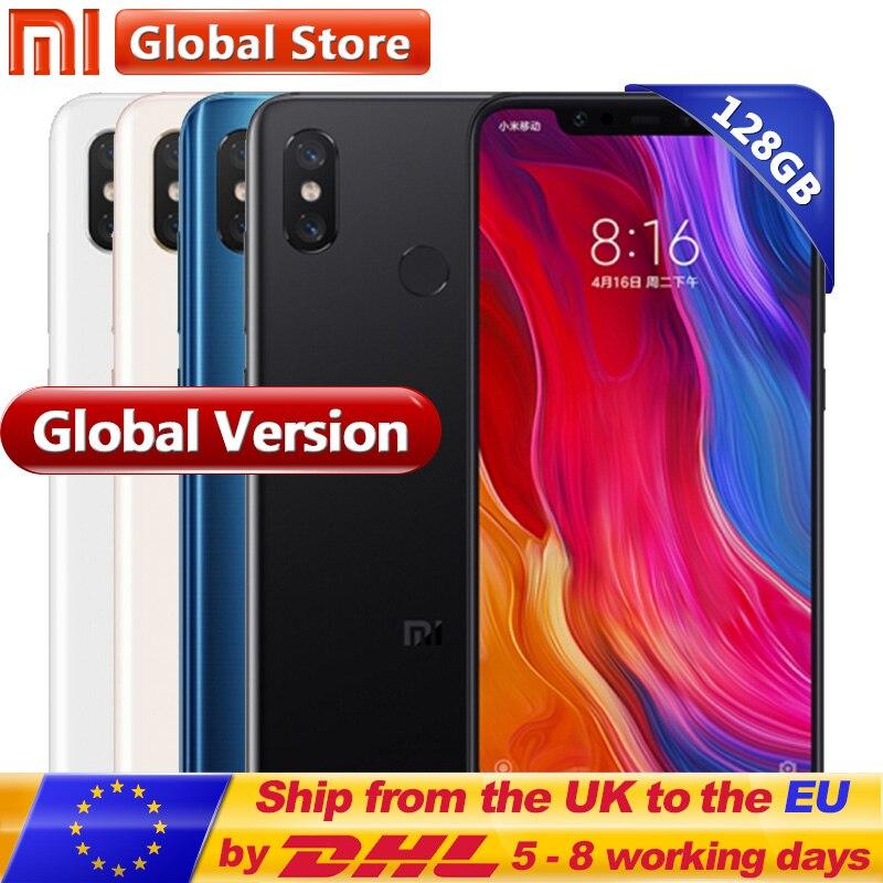 Globale Version Xiao mi mi 8 Handy 6 gb RAM 128 gb ROM Snapdragon 845 Octa Core 6,21