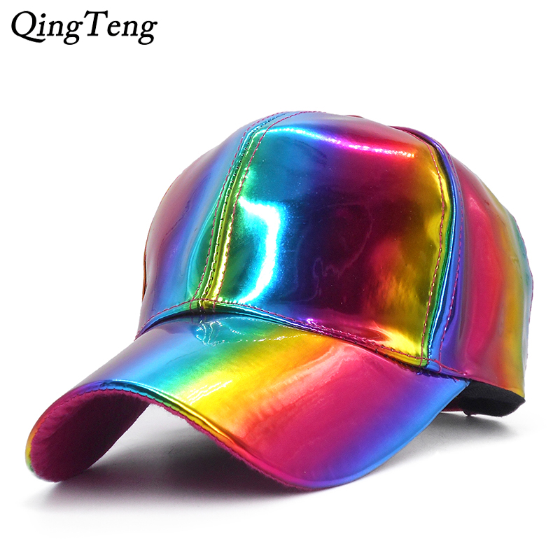 Luxury Licensed For Rainbow Color Changing   Baseball     Caps   For Men Back To The Future Props Bigbang G-Dragon Casual Women Hat