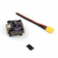 FlyColor Raptor S Tower 4 in 1 12A BLHeli S ESC 2 3S Speed Controller with OSD /No OSD 20mm*20mm for RC Mini Drone Quadcopter
