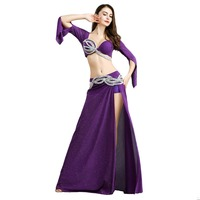 Free Shipping 2019 New Arrival belly dance costume set Sexy fashion belly dance wear Belly dance clothes for women 8824