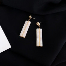 Rectangular Japanese Acrylic Earrings