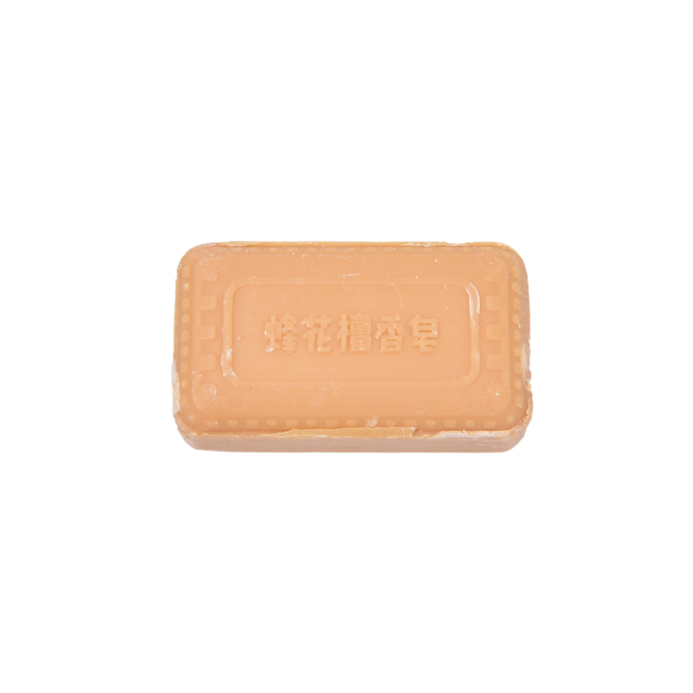 Sandalwood Handmade Soap Oil-control Whitening Deep Cleaning Hand Face Body Washing Soap 25g Bee Flower Essence Soap