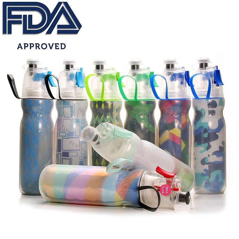 Doppel-Wand Isolierte Flasche, Beschlagen Wasser Flasche, FDA Genehmigt BPA-Freies 20 unze