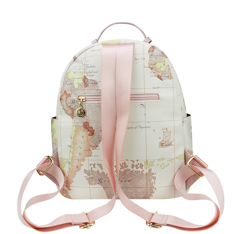 Designer backpack women high quality world map backpack women designer backpack women high quality world map backpack women small fashion leather women bag travel backpack vintage white bags in backpacks from luggage gumiabroncs Image collections