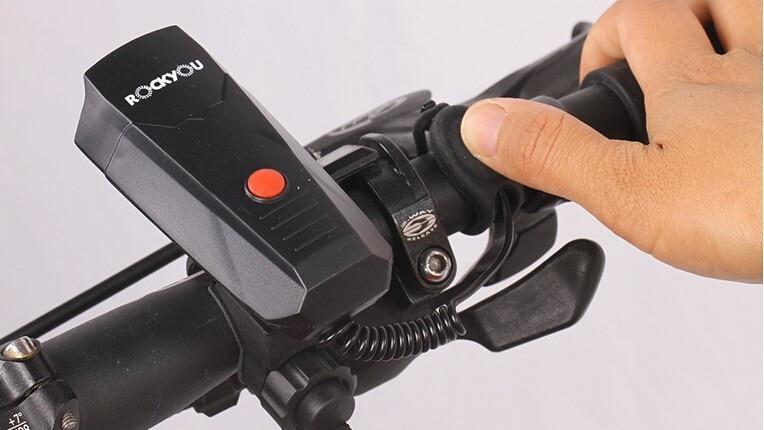 Jakroo 자전거 경적 산악 자전거 경적 벨 전기 전자 타기 벨 ultralarge