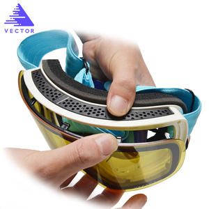 Image 2 - Only Lens For HXJ20011 Anti fog UV400 Skiing Goggles Lens Glasses Weak Light tint Weather Cloudy Brightening