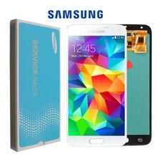 OLED качество 5,7 ''lcd для SAMSUNG Galaxy S5 lcd сенсорный экран для SAMSUNG Galaxy S5 i9600 G900 G900F G900M G900H SM-G900F