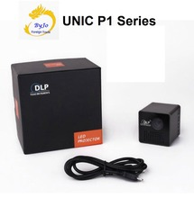 Onlyoriginal UNIC P1 серии Беспроводной мобильный проектор Поддержка Miracast DLNA карман домашнего кино proyector проектор Батарея