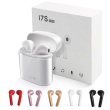 New i7 i7s TWS Mini Bluetooth Wireless Earphones With Charging Box Sport Stereo Earbud Headsets For iPhone Samsung Xiaomi Huawei