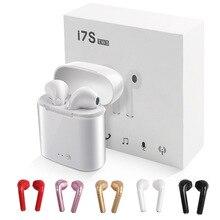 I7 i7s СПЦ мини беспроводные наушники bluetooth с загрузочной коробки Спорт стерео вкладыши наушники для iPhone Xiaomi ecouteur беспроводной