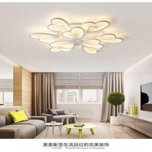 Image 4 - Moderne Led Kroonluchter App Met Afstandsbediening Acryl Lamp Voor Woonkamer Slaapkamer Keuken Thuis Kroonluchter Plafond