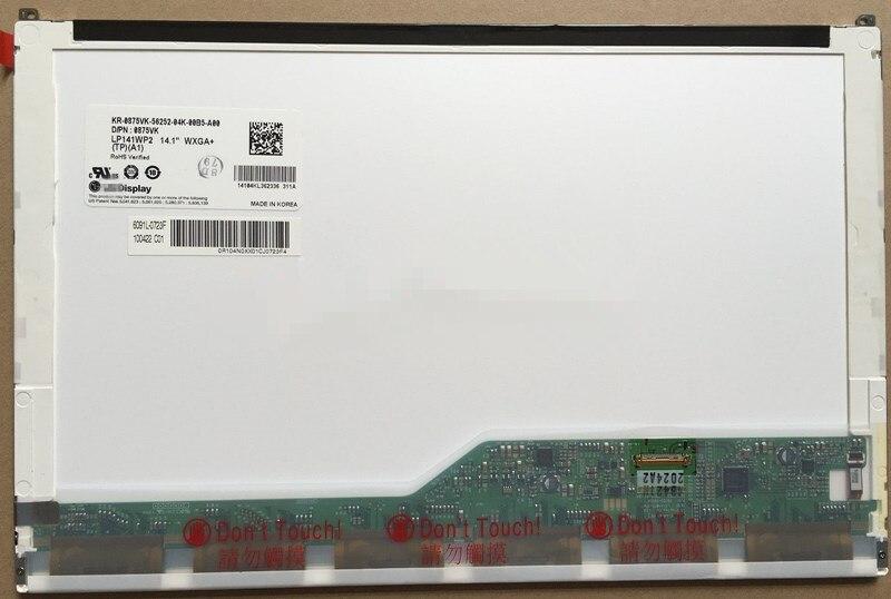 B141PW04 V.1 LTN141BT10 001 LP141WP2 TPA1 For DELL E6410 E5410 Laptop LCD SCREEN LED Screen NEW 30 PIN EDP