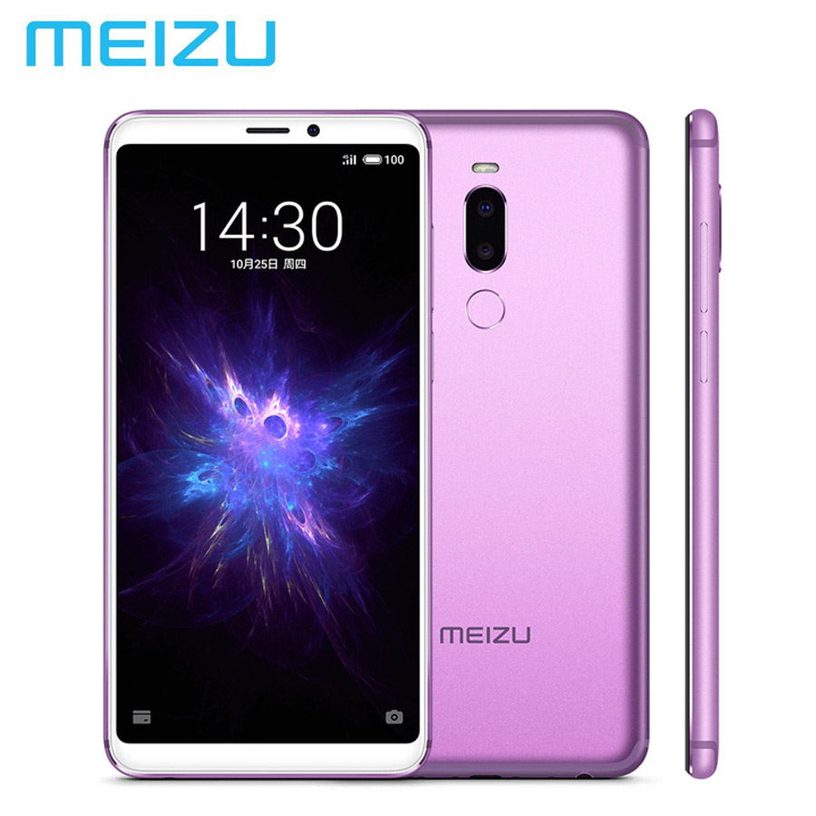 Global MEIZU Note 8 Android 8.0 LTE 4G téléphone portable 4 GB RAM 64 GB ROM Snapdragon632 OctaCore 5.99 pouces 1080x2160 p 3600 mAh 12MP + 5MP
