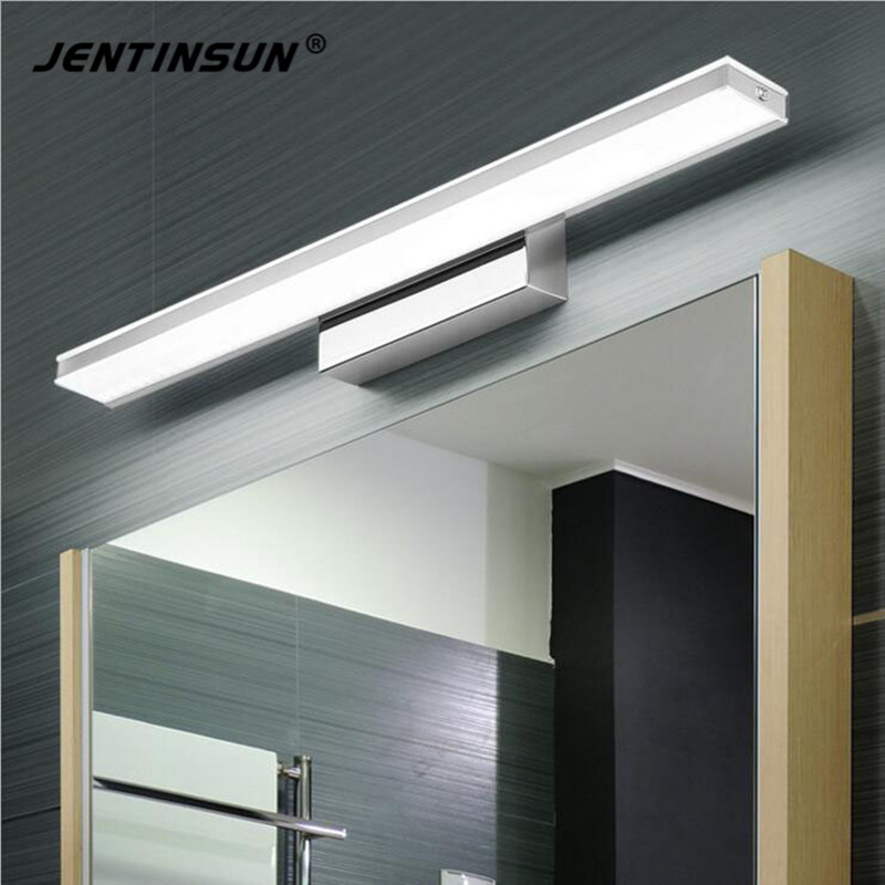 9-20W Simple LED Mirror Front Light Waterproof Anti-fog Bathroom Mirror Wall Lights Lamp LED Home Fixture Indoor Lighting Sconce modern minimalist led anti fog mirror lights mirror front lights bathroom toilet mirror front mirror light cabinets with switch