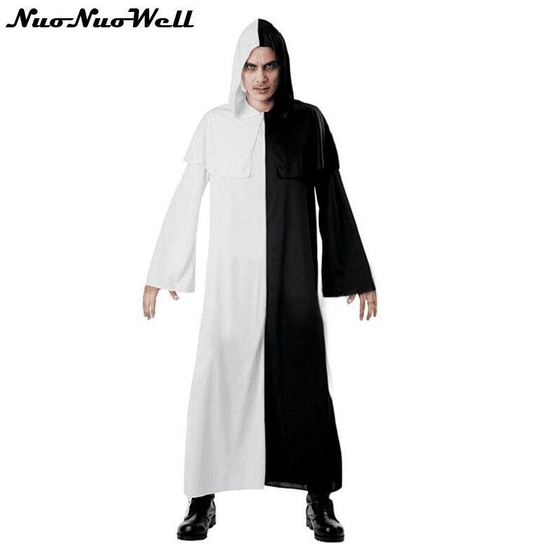 Nouvelle Arrivée Halloween Horrible Démon Costume Homme Adulte Zombie Fantôme Robe Jeu de Rôle Vêtements pour Vêtements de Performance de Cosplay