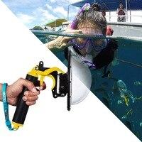 TELESIN DOME Port Waterproof Lens Case For Shooting Photography When Scuba 30M Depth Diving For Sjcam