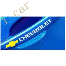4pcs/lot Personality car handle decor stickers,car styling sticker case for chevrolet cruze/chevrolet aveo and so on