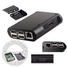 Black Case for Raspberry Pi Model B+ B Plus Raspberry Pi 2 Model B Cover Shell Enclosure Box FZ1166