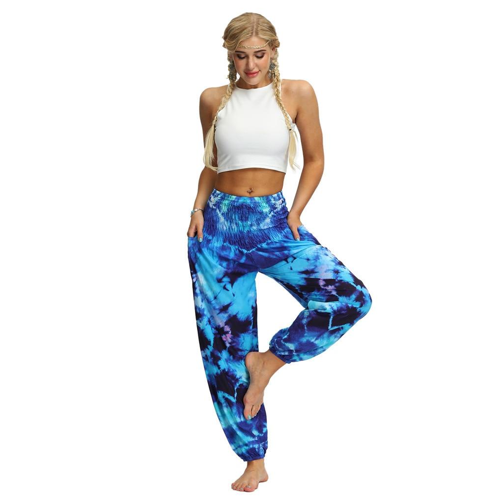 Casual Loose Pantalon Femme Harem Pants Pantalones Mujer Pantalones De Mujer Streetwear 2019 Hippy Baggy Boho Aladdin Pants Z4