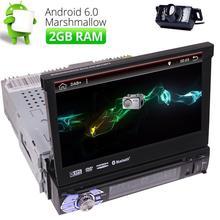 Eincar 7″ Android 6.0 1 Din Single din Car Radio Stereo CD DVD Player car styling GPS OBD2 3G DAB Bluetooth 2GB RAM+Free CAMERA