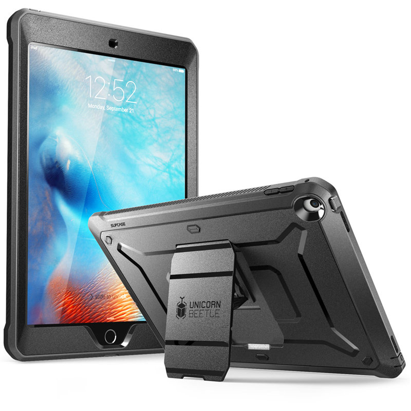 For iPad 9.7 Case (2018/2017) SUPCASE Heavy Duty UB Pro Full Body Rugged Protective Case with Built in Screen ProtectorTablets & e-Books Case   -