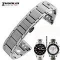 Alta qualidade 20mm de aço inoxidável pulseira para Relógio Banda PRS516 T91 série de Corridas de cintas de banda de Aço Inoxidável Relógio de Pulseira