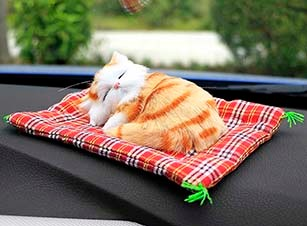 Car-Ornaments-Cute-Simulation-Sleeping-Cats-Decoration-Automobiles-Lovely-Plush-Kittens-Doll-Toy-Children-Gifts-Accessories