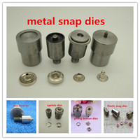 Free Fee Metal Snap Button Mould Plastic Snap Button Dies Sprong Snap Button Mold Eyelets Rivet
