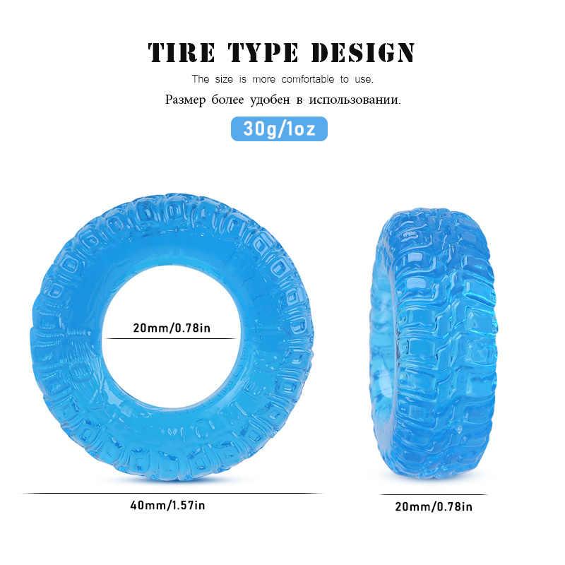 Juego de 3 unids/set de Codoms de silicona reutilizables, Juguetes sexuales para hombres, estimulador de pene para hombre, retardante de eyaculación, anillos sexuales para pene, anillos con mangas para pene