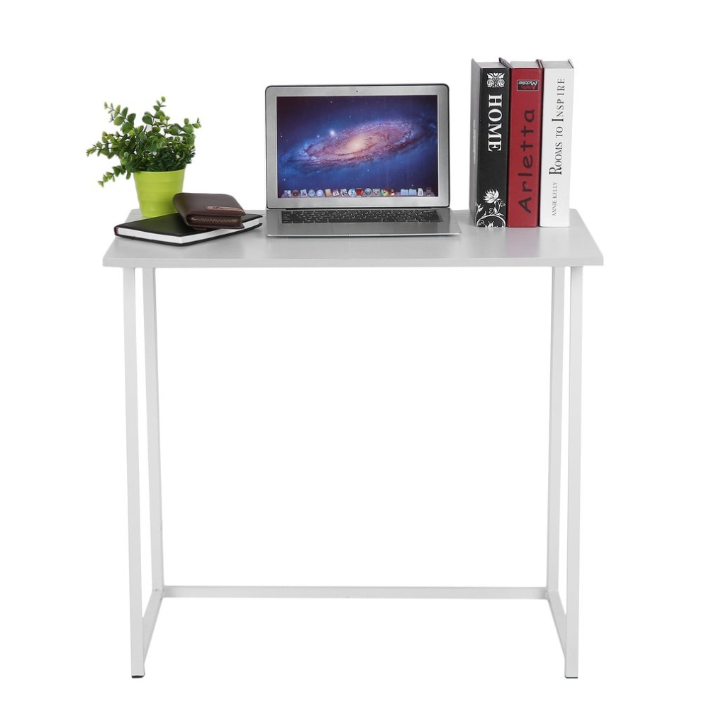 Multifunction Integrated Free Installation Home Office Study Foldable Computer Desk Simple Folding Laptop PC Table sufeile oversized laptop table collapsible portable computer desk home simple dining table wooden office simple study table