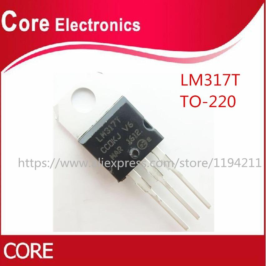 USA SELLER 5 PCS LM317T LM317 Voltage Regulator IC 1.2V to 37V 1.5A