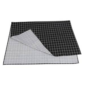 Image 5 - Hot Black Plaid Table Cloth Home Coffee Table Decorative Brief Tablecloth For Home Restaurant Shop Decoration