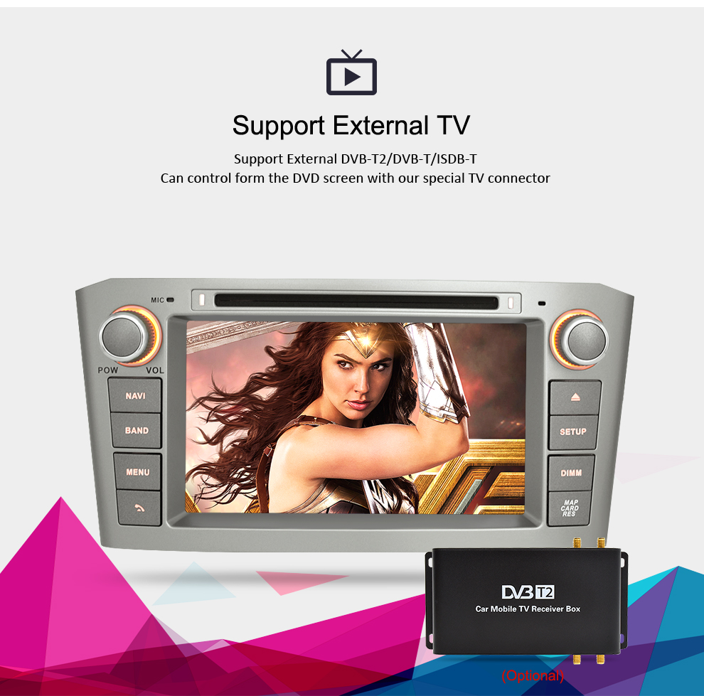 Image 5 - Android 9.0 9.1 Car Stereo For Toyota Avensis/T25 2003 2008 Car DVD Player 2 Din  PC Head 4G RAM Multimedia Video GPS Navigation-in Car Multimedia Player from Automobiles & Motorcycles