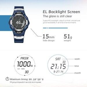 Image 3 - SPOVAN גברים דיגיטלי ספורט שעון אופנה 100M עמיד למים חיצוני אלקטרוני מעורר סטופר שעונים לילדים ילד מתנות SW01