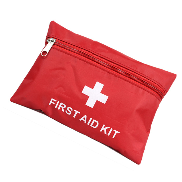 First aid kit outdoor survival kit first aid bags medicine bag red cross Freeshipping