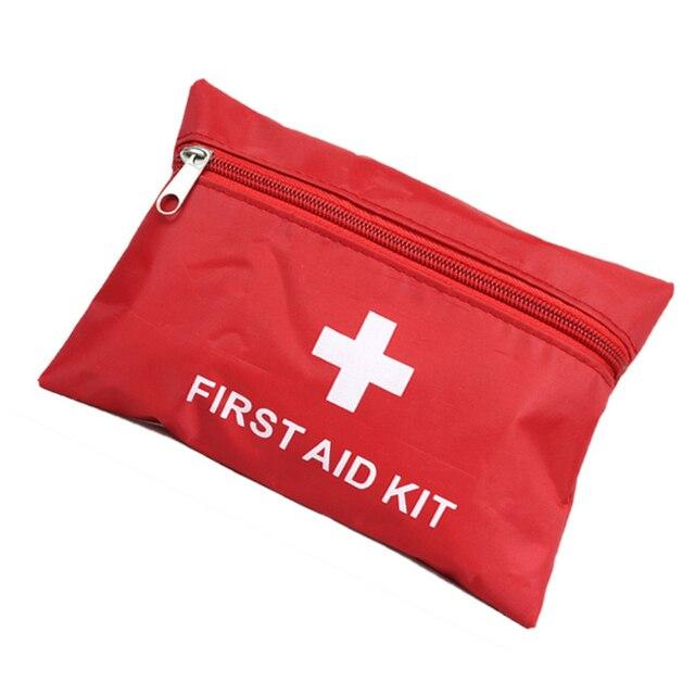 Pertolongan pertama luar survival kit tas pertolongan tas obat pertama palang merah Freeshipping