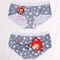 Envío gratis marca de alta calidad de dibujos animados underwear calzoncillos bragas de las mujeres panty sexy calzoncillos cuecas calzoncillos tangas bragas