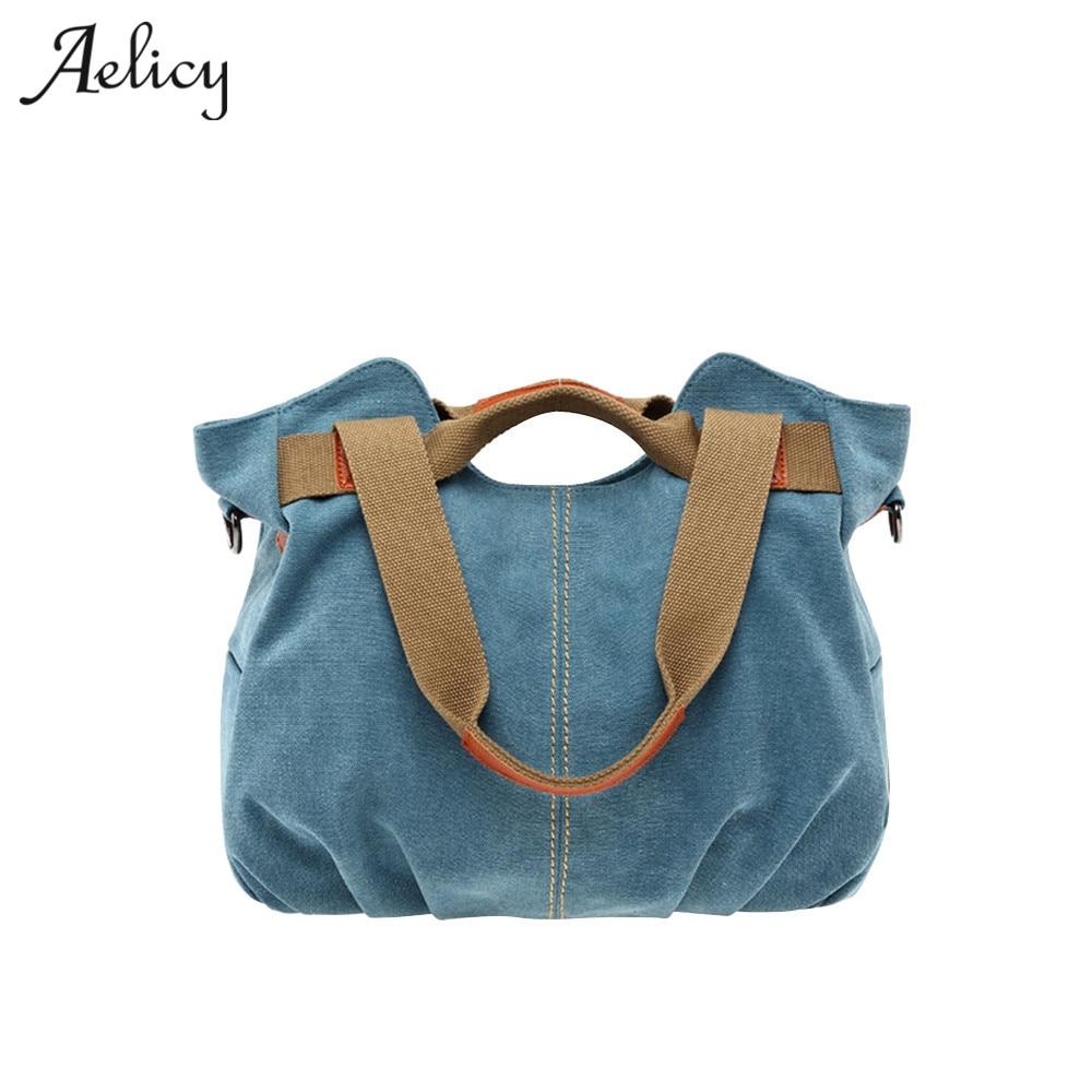 Handbags Bag Female Canvas Casual Tote Bags Handbags Women Famous Brands Handbags For Moms Large Capacity Bolsas