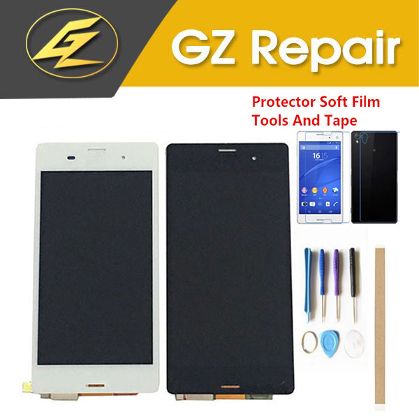 5.2 Inch For <font><b>Sony</b></font> Xperia <font><b>Z3</b></font> <font><b>D6603</b></font> D6633 D6653 L55T LCD Display With Touch Sensor Glass Digitizer Assembly With Kits image
