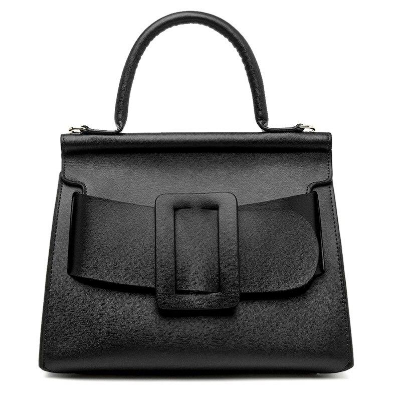2019 для женщин модная сумка повседневное высокое качество сумки новый стиль черный на плечо бесплатная доставка