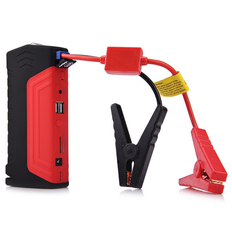 Portable Car Jump Starter Power Bank Car Battery Booster Charger 12V Emergency Starter Car Booster Digital Products Accessories best selling car jump starter 50800mah emergency starter 12v portable mini engine booster car power bank booster charger