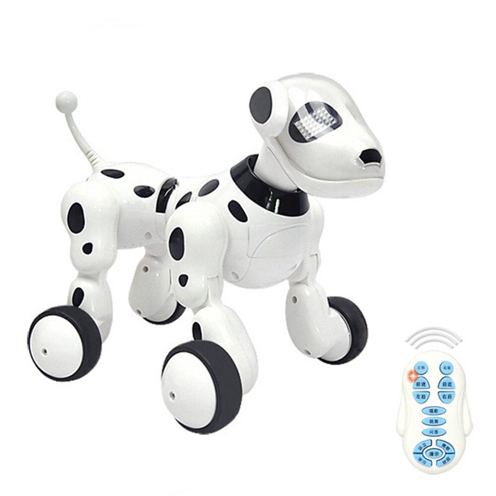 Perro Robot parlante Digital mascota danza inteligente perro Robot 2,4G Control remoto inalámbrico niños juguetes electrónicos juguetes de música niños regalo
